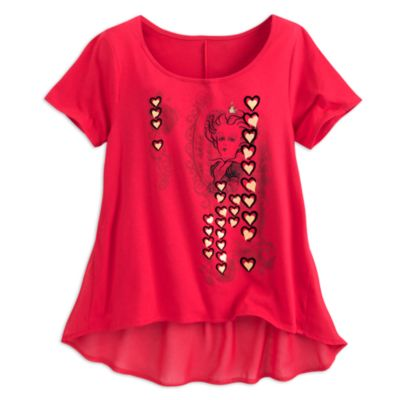 The Red Queen Ladies' Top, Alice Through The Looking Glass