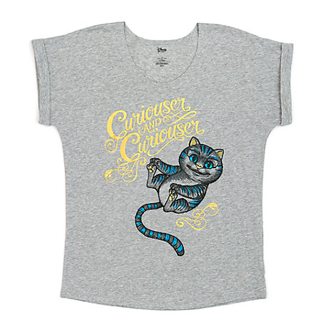 Cheshire Cat Ladies' T-Shirt, Alice Through The Looking Glass