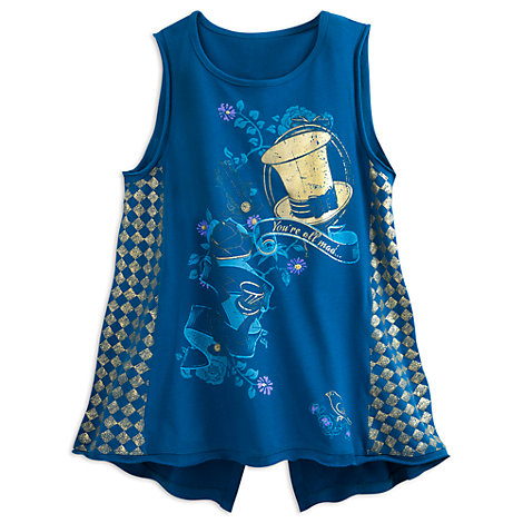 Mad Hatter Ladies' Tank Top, Alice Through The Looking Glass