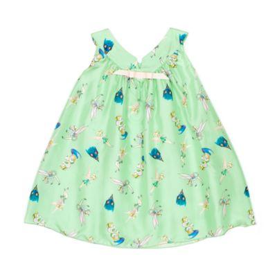 Tinker Bell Silk Dress For Kids, Disney By Vintage Kit Collection