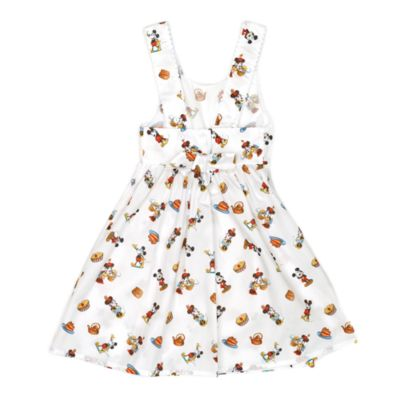 Minnie Mouse Tea Party Dress For Kids, Disney By Vintage Kit Collection