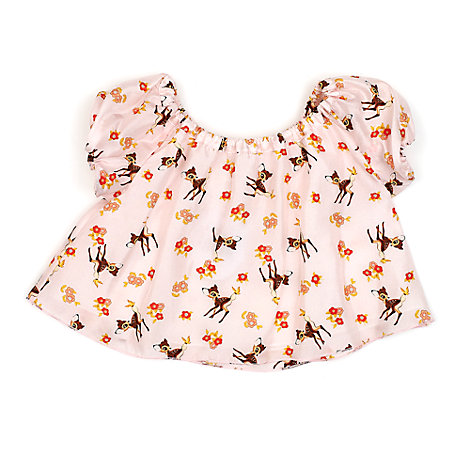 Bambi Silk Top For Kids, Disney By Vintage Kit Collection