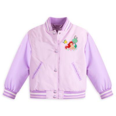 The Little Mermaid Varsity Jacket For Kids