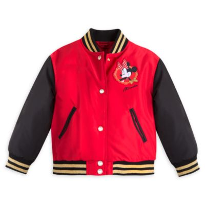 Minnie Mouse Varsity Jacket For Kids