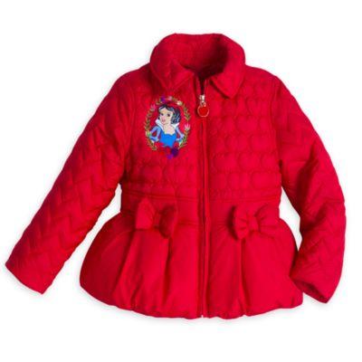 Snow White Padded Jacket For Kids