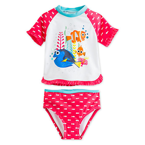 Finding Dory 2 Piece Rash Top Set For Kids