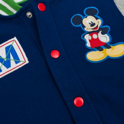 Mickey Mouse Baseball Jacket And T-Shirt Set For Kids