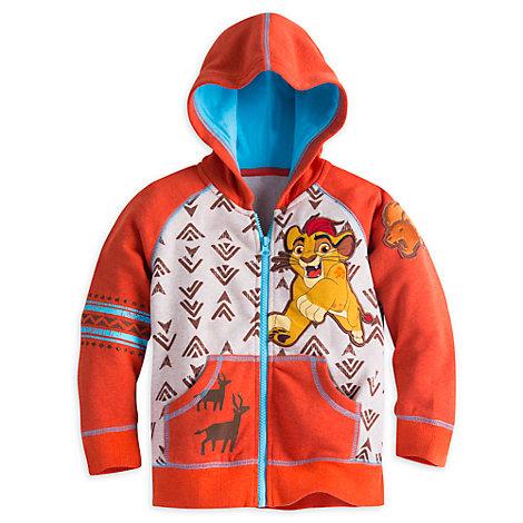 Haut à capuche La Garde du Roi Lion pour enfants