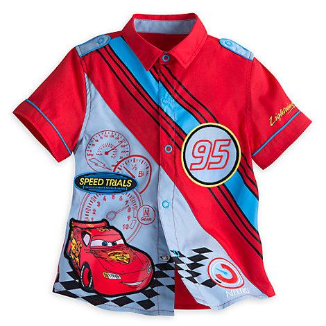Disney Pixar Cars Mechanic Shirt For Kids