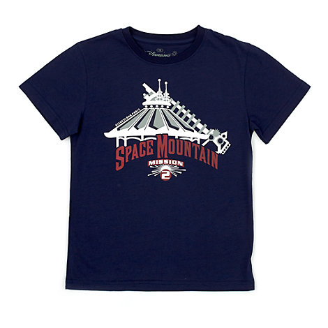 Disneyland Paris Space Mountain Mission 2 T-Shirt For Kids