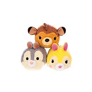 Bambi and Friends Tsum Tsum Mini Soft Toy Collection