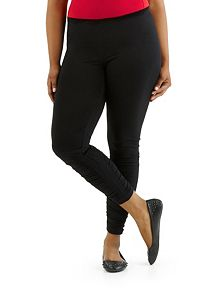 Plus High Waisted Seamless Leggings