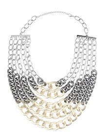 Multi Layer Chunky Chain Necklace
