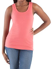 Sleeveless Scoop Neck Racerback Tank
