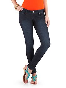 Regular 5 Pocket Rinse Denim Skinny Jeans