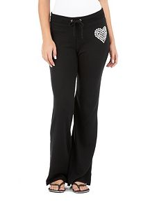 Studded Heart Active Pant