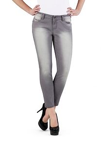 5 Pocket Ankle Length Skinny Jeans