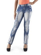 /product/Curvy-Fit-Deconstructed-Splatter-Print-Skinny-Jeans/155859.uts