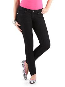 Regular 5 Pocket Black Skinny Jeans