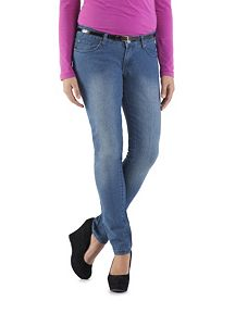 Classy Fit Regular 5 Pocket Medium Wash Skinny Jeans