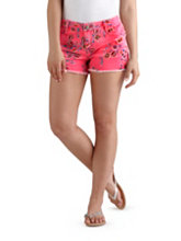 /product/Frayed-Neon-Floral-Print-Shorts/157653.uts
