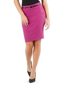 Millenium Zip Back Pencil Skirt