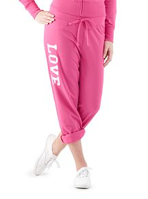 Roll Leg Drawstring Love Active Pant