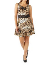 /product/Animal-Print-Skater-Dress-with-Lace-Waist/158464.uts