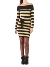 /product/Wide-Cowl-Metallic-Striped-Sweater-Dress/158743.uts