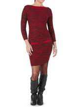 /product/34-Sleeve-Marled-Sweater-Dress-with-Black-Trim/158067.uts