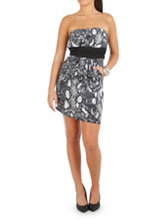 /product/Snakeskin-Print-Dress-with-Pockets/158724.uts