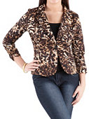 /product/Rouched-Sleeve-Animal-Print-Blazer/156615.uts