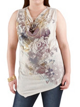 /product/Plus-Floral-Graphic-Print-Drape-Neck-Top-with-Neck/157632.uts