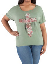 /product/Plus-Scoop-Neck-Floral-Cross-top/156411.uts