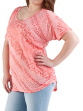 /product/Plus-Dolman-Sleeve-Aztec-Print-Burn-Out-Top/157037.uts