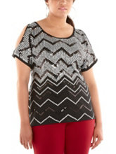 /product/Plus-Cold-Shoulder-Sequin-Chevron-Top/159061.uts