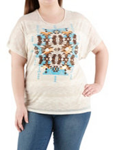 /product/Plus-Crochet-Back-Aztec-Print-Tee/157531.uts