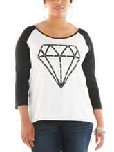 /product/Plus-Studded-Diamond-Screen-Print-Top/159205.uts