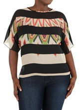 /product/Plus-Dolman-Sleeve-Sheer-Aztec-Stripe-Top/158732.uts
