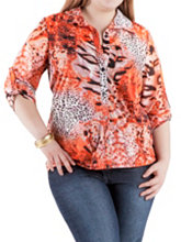 /product/Plus-Tab-Sleeve-Animal-Print-Button-Down-Front-Top/157101.uts