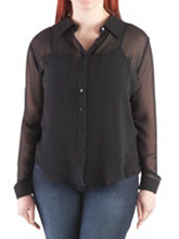 /product/Plus-Sheer-Long-Sleeve-2-Pocket-Hi-Low-Blouse/156466.uts