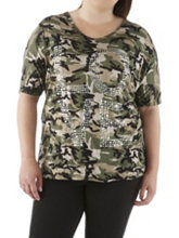 /product/Plus-Camo-Print-Tee-with-Studded-Love/158124.uts