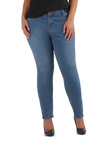 Plus Super Soft Ankle Zip Skinny Jeans