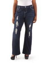 /product/Plus-Curvy-Fit-Floral-Rhinestone-Pocket-Boot-Cut-Jeans/495.uts