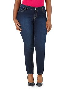 Plus YMI Skinny Denim Jegging