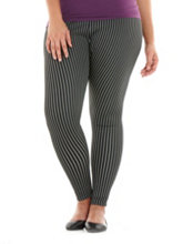/product/Plus-Vertical-Stripe-Techno-Leggings/158975.uts
