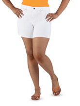 /product/Plus-Super-Stretch-Side-Slit-White-Shorts/157483.uts