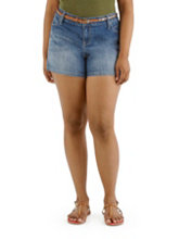 /product/Plus-Denim-Shorts-with-Studded-Belt/157619.uts