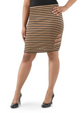/product/Plus-Striped-Cut-Out-Pencil-Skirt/156839.uts
