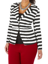/product/Plus-Striped-Jacket-with-Epaulets/158978.uts